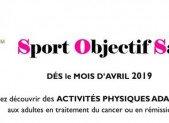 Sport Objectif Santé dès le mois d'Avril
